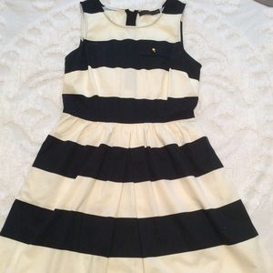The Limited Striped Derby Dress